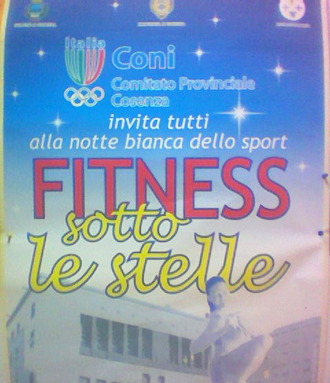 Fitness sotto le stelle 2009
