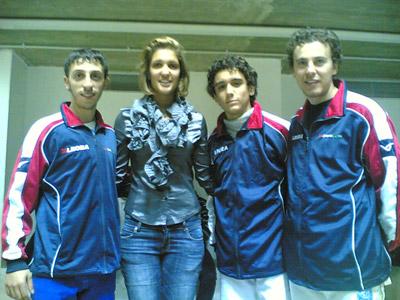 Bruno, Pastore e Perri con Arianna Errigo