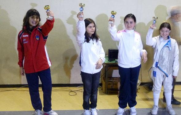 Claudia Aiello vince nella categoria Bambine