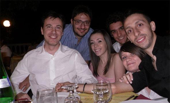 Cena sociale Club Scherma Cosenza 2012