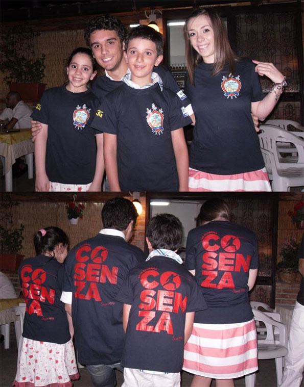 Maglietta Club Scherma Cosenza