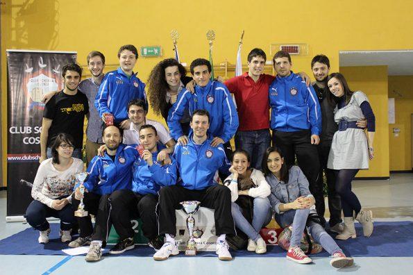 Foto di gruppo Coppa Italia Cosenza