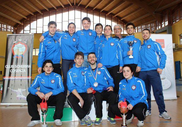 Gruppo Club Scherma Cosenza - Coppa Italia 2015