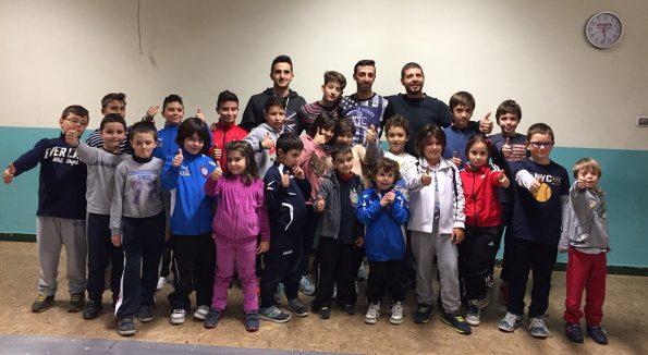 Festa Natale 2015 bimbi Club Scherma Cosenza