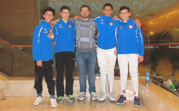Club Scherma Cosenza al Gran Prix di Caserta
