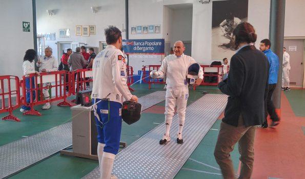 Mauro Monteforte, gara Master Busto Arsizio