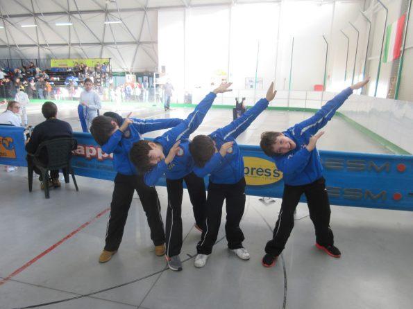 La squadra di spada Giovanissimi/Maschietti 2016-17