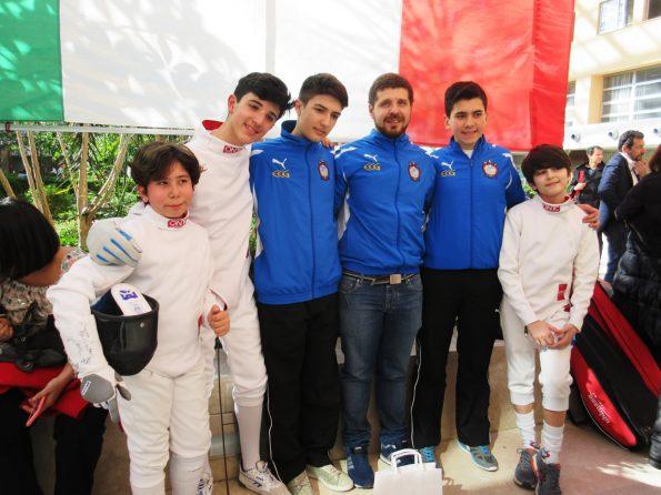 gara nazionale spada under14 caserta