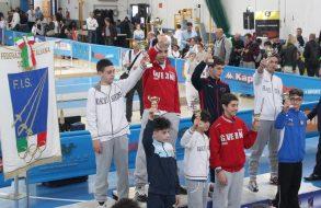 Baronissi podio fioretto maschile allievi