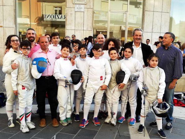 Tremenda Day 2018 a Cosenza, la scherma in strada
