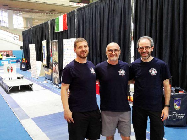 Campionato Master Scherma 2018: Perri, Monteforte e La Regina