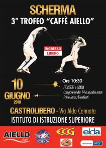 Locandina del Trofeo Caffe Aiello 2018